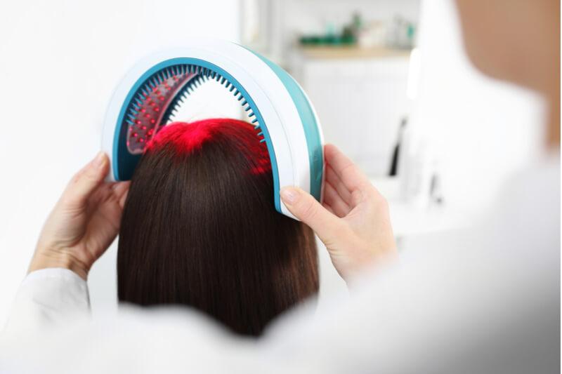 Laser hair loss treatment methods