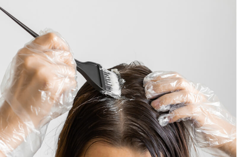 Minimise chemicals hair loss
