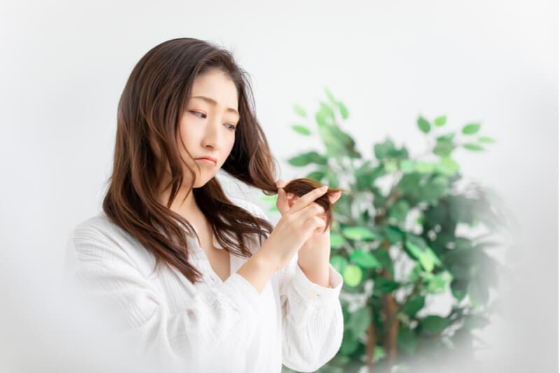 hair concerns dry split ends hair loss