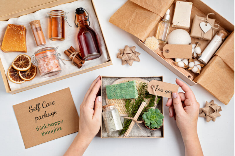 self care package gift idea